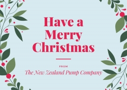 Merry Xmas From The NZ Pump Company Europe